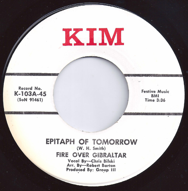 Fire Over Gibraltar - Epitaph Of Tomorrow