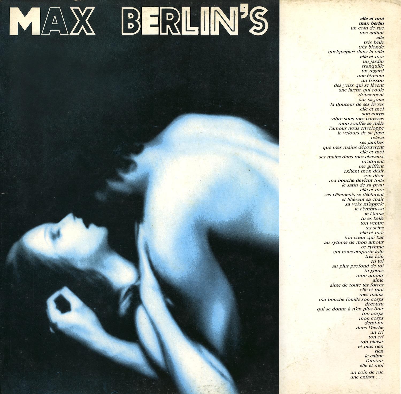 Max Berlin's - Elle Et Moi